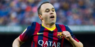 Primera Division Andres Iniesta FC Barcelona getty