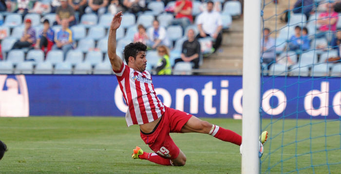Primera Division Diego Costa Atletico Madrid getty