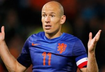 WK 2018 kwalificatie Nederland - Luxemburg Arjen Robben getty