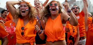 WK Voetbal Nederland tegne Mexico getty