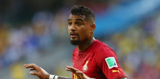 Kevin-Prince Boateng Afrika Cup