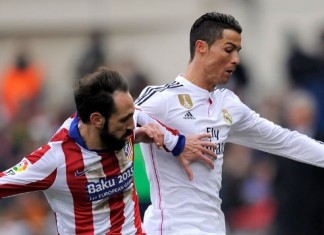 Cristiano Ronaldo Real Madrid - Atletico Madrid