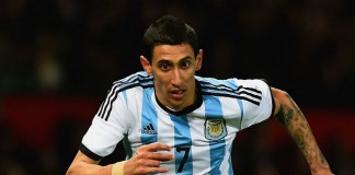 Angel di Maria Chili - Argentinië