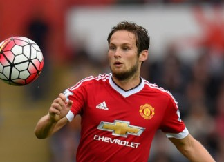 Daley Blind Manchester United - Liverpool