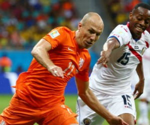 Arjen Robben Nederlands Elftal weddenschappen Getty