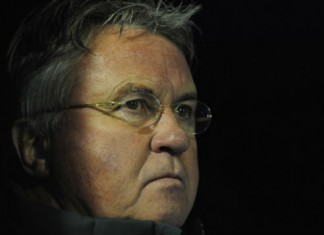 Guus Hiddink Chelsea - Manchester City