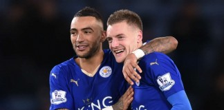 Jamie Vardy Arsenal - Leicester City