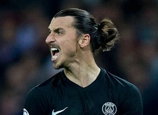 Zlatan Ibrahimovic Paris Saint-Germain - Chelsea