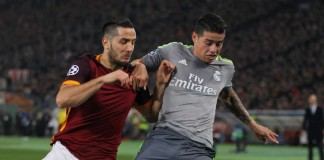 James Rodriguez Real Madrid - AS Roma