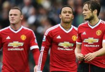 Toekomst van Blind en Depay bij Manchester United in Premier League Getty